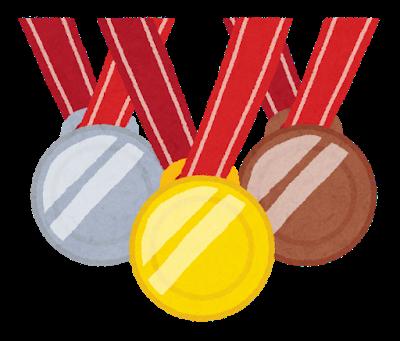オリンピックのメダル